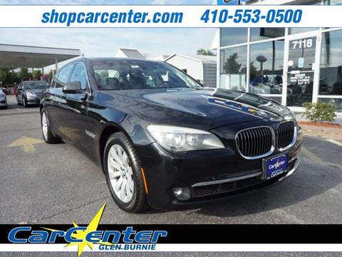 2011 BMW 7 Series for sale in Waldorf, MD