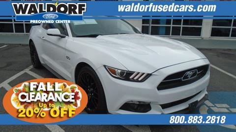 2015 Ford Mustang for sale in Waldorf, MD