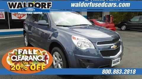 2013 Chevrolet Equinox for sale in Waldorf, MD