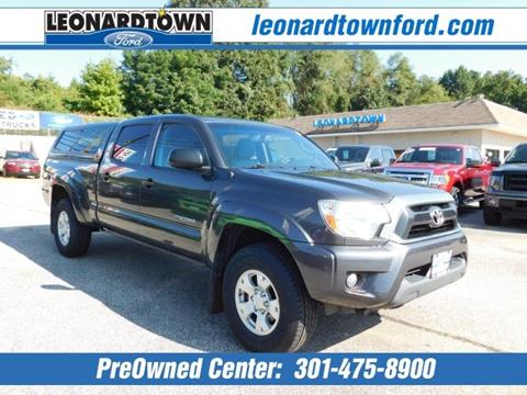 2012 Toyota Tacoma for sale in Waldorf, MD