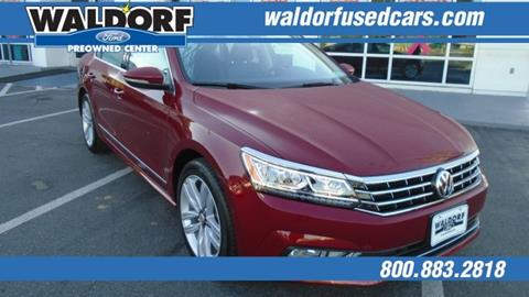 2017 Volkswagen Passat for sale in Waldorf, MD