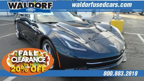 2015 Chevrolet Corvette for sale in Waldorf, MD