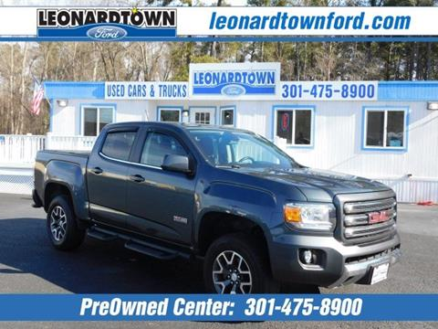 2015 GMC Canyon for sale in Waldorf, MD