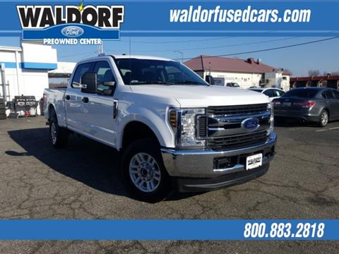 2018 Ford F-250 Super Duty for sale in Waldorf, MD