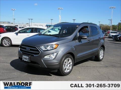 2019 Ford EcoSport for sale in Waldorf, MD