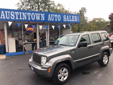 2012 Jeep Liberty for sale in Austintown, OH