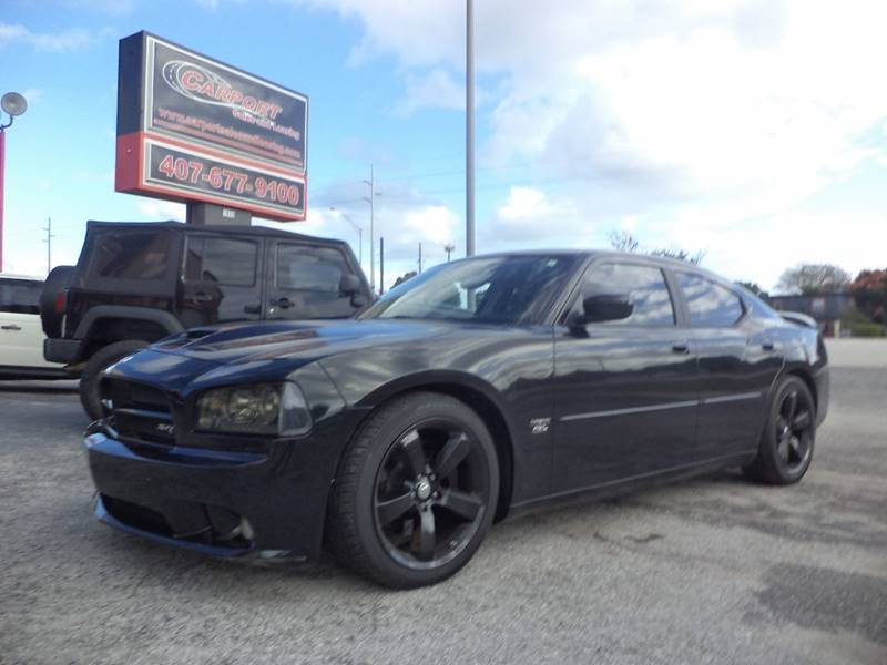 2006 Dodge Charger SRT-8 for sale at CARPORT SALES AND  LEASING in Oviedo FL
