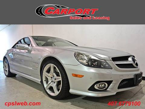 2011 Mercedes-Benz SL-Class for sale at CARPORT SALES AND  LEASING in Oviedo FL