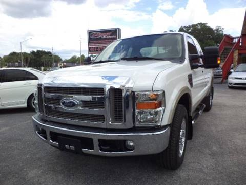 2010 Ford F-250 Super Duty for sale at CARPORT SALES AND  LEASING in Oviedo FL