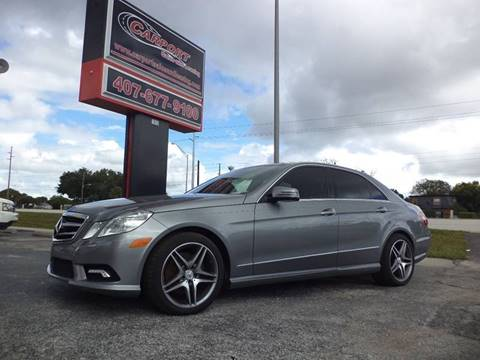 2010 Mercedes-Benz E-Class for sale at CARPORT SALES AND  LEASING in Oviedo FL