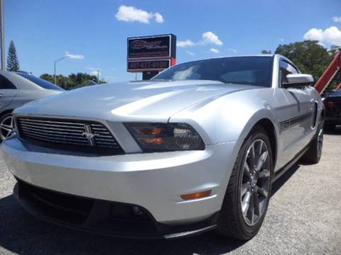 2011 Ford Mustang for sale at CARPORT SALES AND  LEASING in Oviedo FL