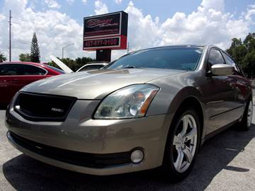 2004 Nissan Maxima for sale at CARPORT SALES AND  LEASING in Oviedo FL