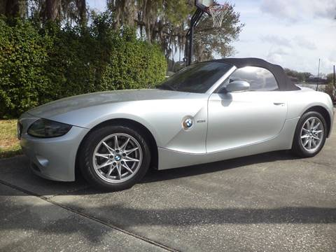 2003 BMW Z4 for sale at CARPORT SALES AND  LEASING in Oviedo FL