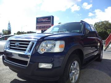 2007 Ford Explorer Sport Trac for sale at CARPORT SALES AND  LEASING in Oviedo FL