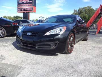 2011 Hyundai Genesis Coupe for sale at CARPORT SALES AND  LEASING in Oviedo FL