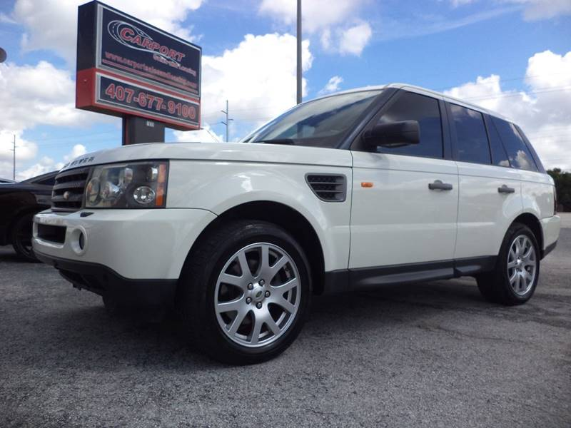 2008 land rover range rover sport 4x4 hse 4dr suv in oviedo fl carport sales and leasing. Black Bedroom Furniture Sets. Home Design Ideas