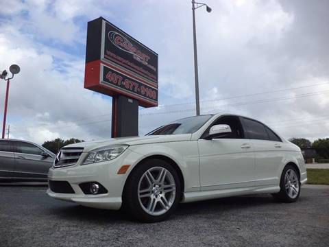 2008 Mercedes-Benz C-Class for sale at CARPORT SALES AND  LEASING in Oviedo FL