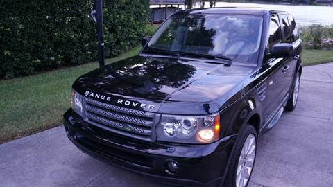 2009 Land Rover Range Rover Sport for sale at CARPORT SALES AND  LEASING in Oviedo FL