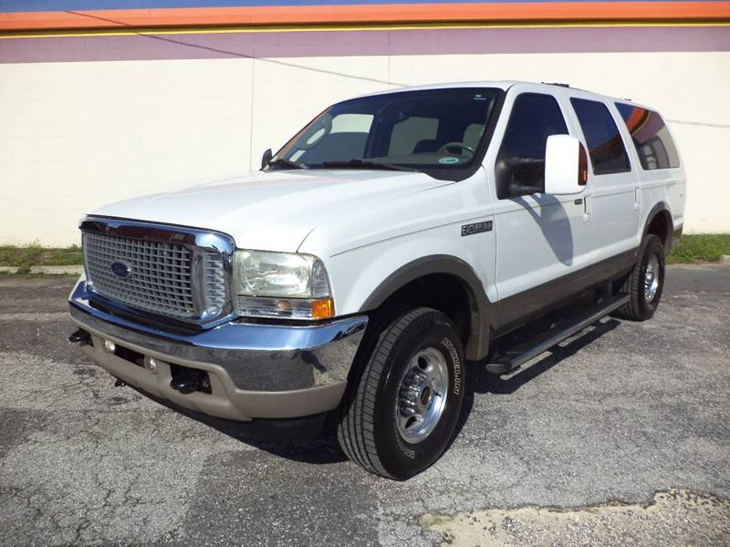 2004 Ford Excursion for sale at CARPORT SALES AND  LEASING in Oviedo FL