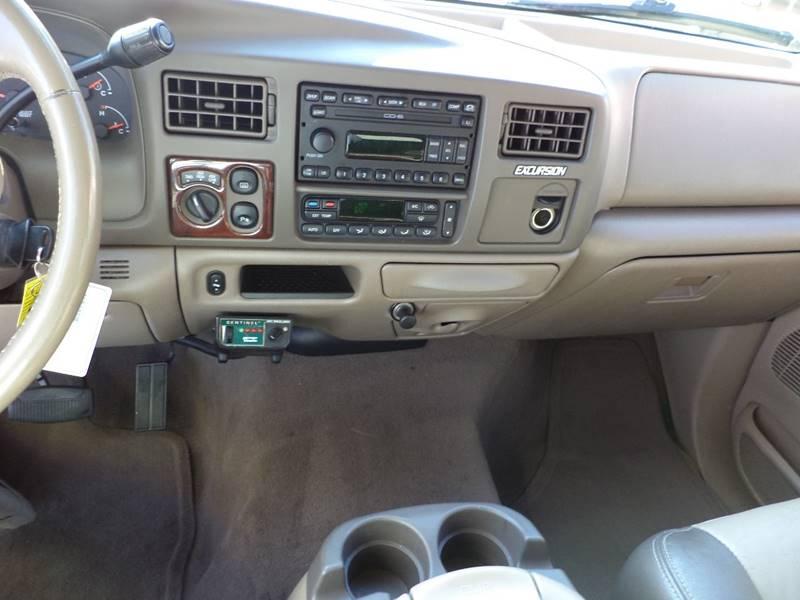 2004 Ford Excursion Eddie Bauer 4wd 4dr Suv In Oviedo Fl Carport