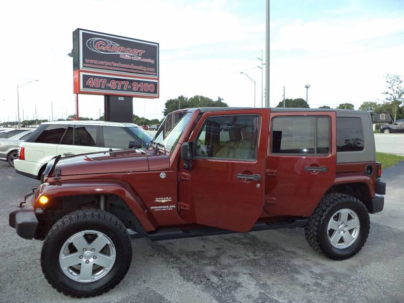 2007 Jeep Wrangler Unlimited for sale at CARPORT SALES AND  LEASING in Oviedo FL