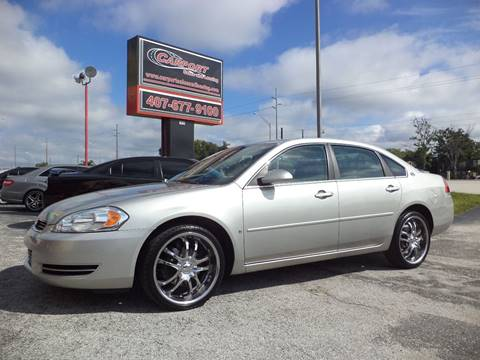 2008 Chevrolet Impala for sale at CARPORT SALES AND  LEASING in Oviedo FL