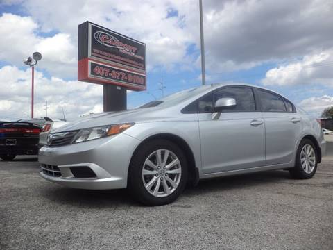 2012 Honda Civic for sale at CARPORT SALES AND  LEASING in Oviedo FL