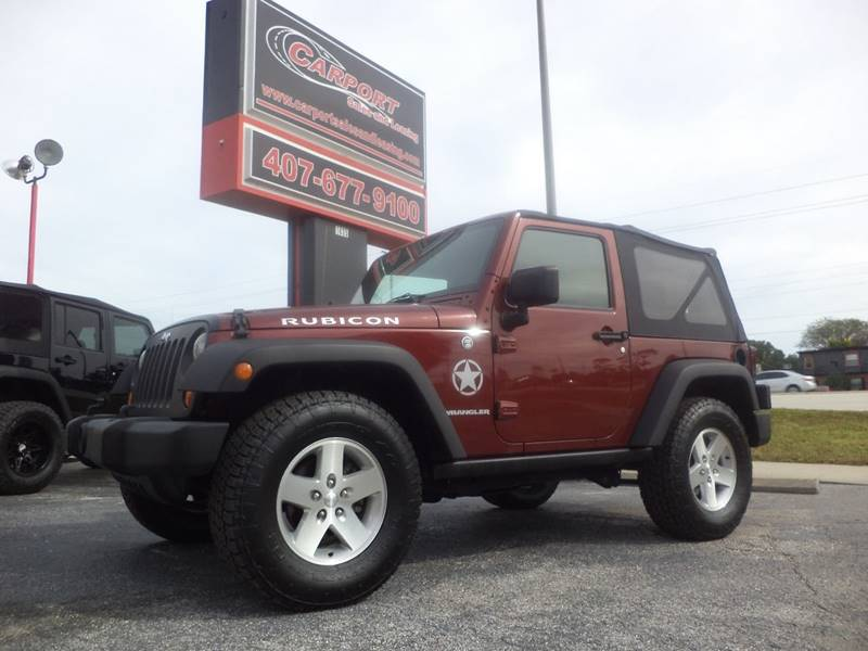 2007 Jeep Wrangler for sale at CARPORT SALES AND  LEASING in Oviedo FL