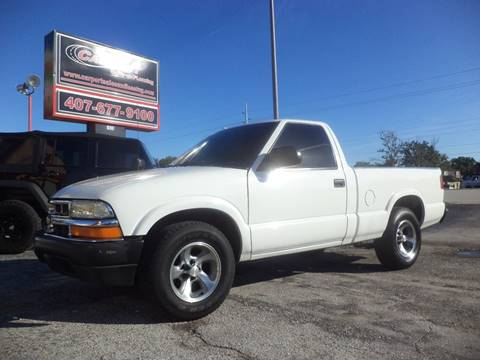 2003 Chevrolet S-10 for sale at CARPORT SALES AND  LEASING in Oviedo FL