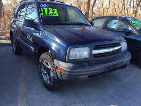 2003 Chevrolet Tracker for sale in Edwardsville, KS
