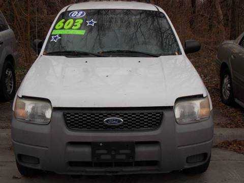2002 Ford Escape for sale in Edwardsville, KS