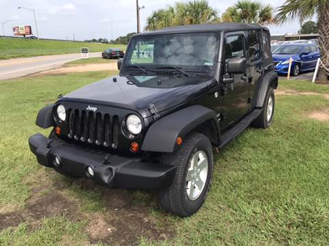 2011 Jeep Wrangler Unlimited for sale in Mobile, AL