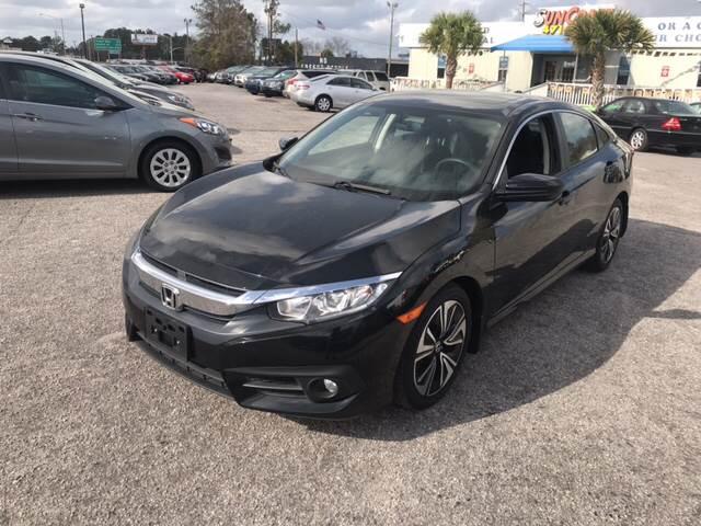 Honda Mobile Al >> 2016 Honda Civic Ex T 4dr Sedan In Mobile Al Sun Coast City Auto Sales