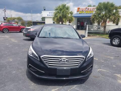 2017 Hyundai Sonata for sale at Sun Coast City Auto Sales in Mobile AL