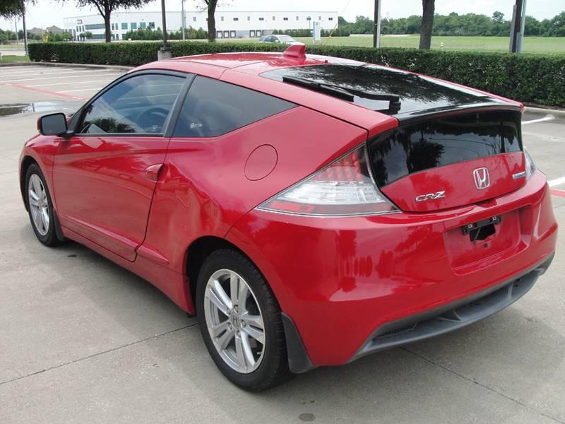 2012 Honda CR-Z 2dr Hatchback CVT - Plano TX