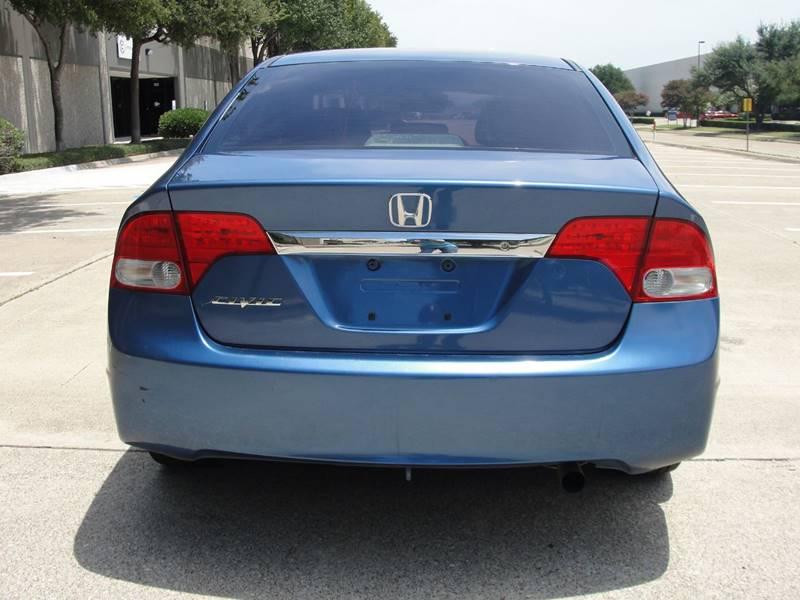 2010 Honda Civic LX 4dr Sedan 5A - Plano TX