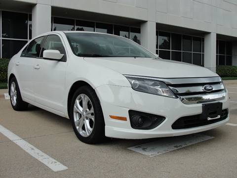 2012 Ford Fusion for sale in Plano, TX