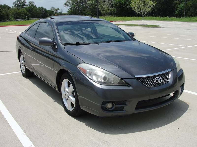 2008 toyota camry solara se v6 2dr coupe 5a in plano tx global car max. Black Bedroom Furniture Sets. Home Design Ideas