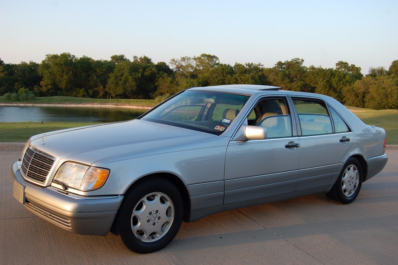 1995 mercedes benz s class s420 4dr sedan in plano tx for 1995 mercedes benz s class