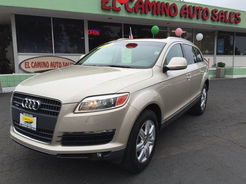 2007 AUDI Q7 42 QUATTRO cream rare audi q7 with that perfect color combo this vehicle is safety