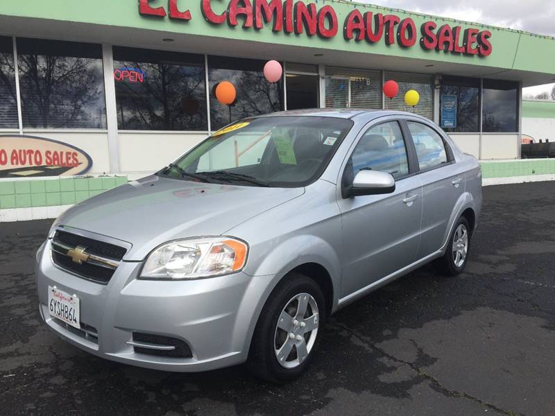 2011 CHEVROLET AVEO LS silver door handle color - body-color exhaust tip color - stainless-steel