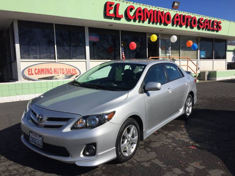 2012 TOYOTA COROLLA S silver exhaust - dual tip door handle color - body-color exhaust tip colo