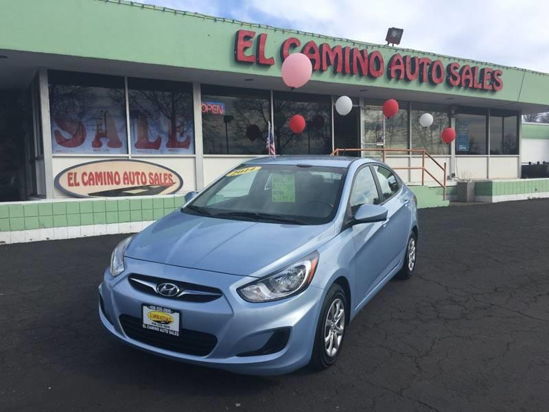 2014 HYUNDAI ACCENT GLS 4DR SEDAN blue great on gas air conditioning alarm power steering pow