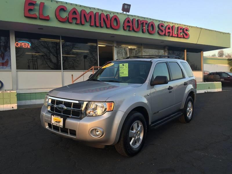 2008 FORD ESCAPE XLT 4DR SUV V6 silver air conditioning alarm power steering power windows po
