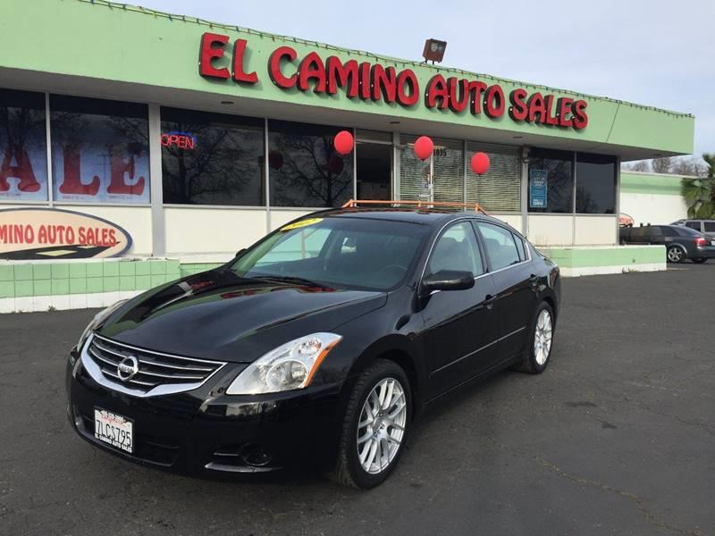 2012 NISSAN ALTIMA 25 S 4DR SEDAN black exhaust - dual tip door handle color - body-color exha