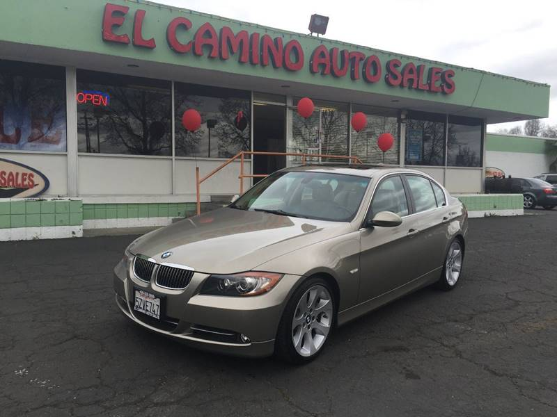 2007 BMW 3 SERIES 335I brown cargo tie downs grille color - chrome air filtration - active char