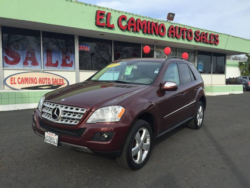 2009 MERCEDES-BENZ M-CLASS ML350 4MATIC maroon cargo tie downs skid plates air filtration - a