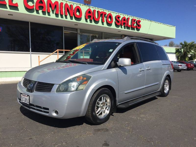 2004 NISSAN QUEST 35 SE silver running boards front air conditioning front air conditioning -