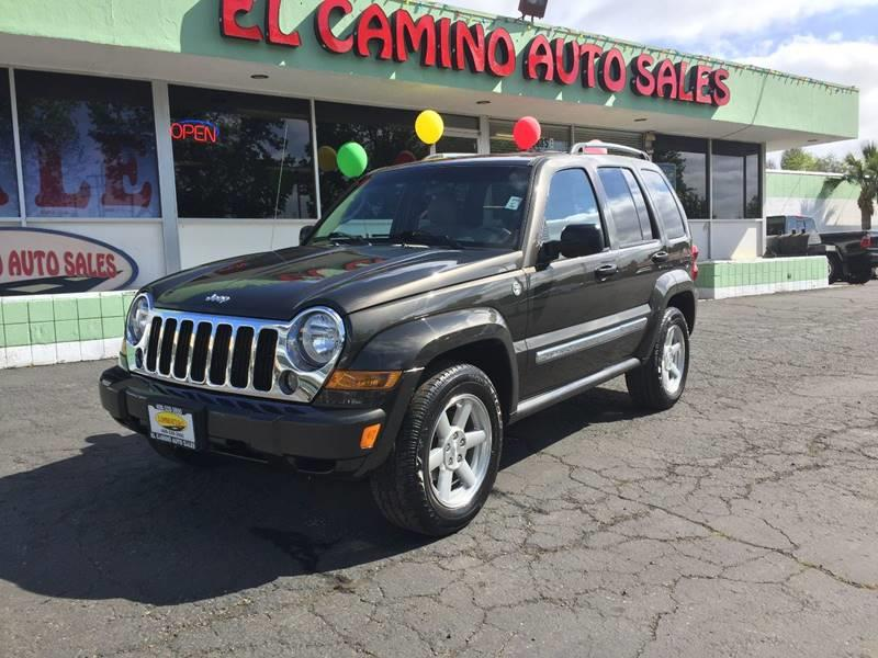 2006 JEEP LIBERTY LIMITED 4DR SUV 4WD brown 1 owner car clean carfax air conditioning alarm po