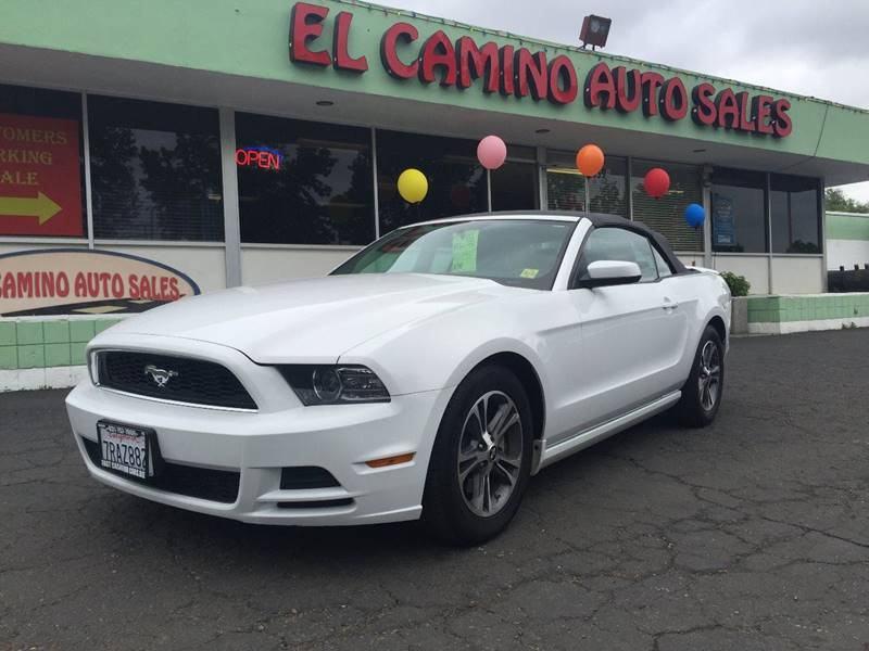 2014 FORD MUSTANG V6 PREMIUM white exhaust - dual tip door handle color - body-color exhaust ti